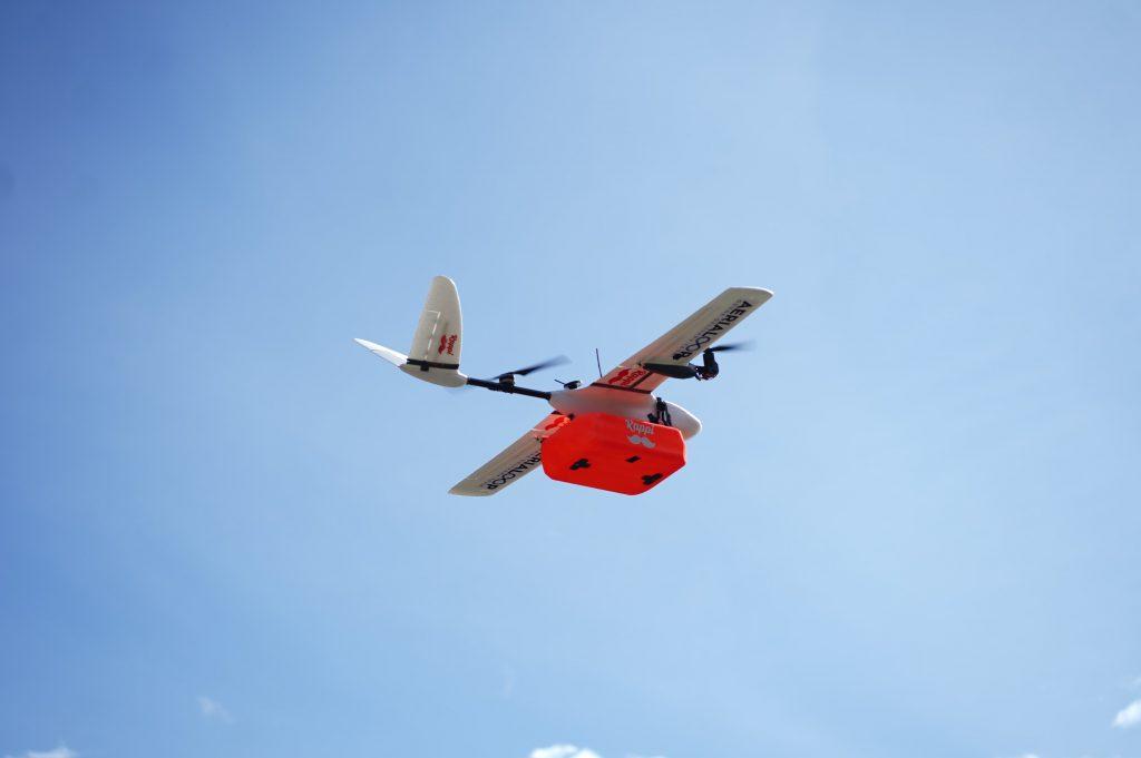 Rappi empieza servicio de delivery con drones