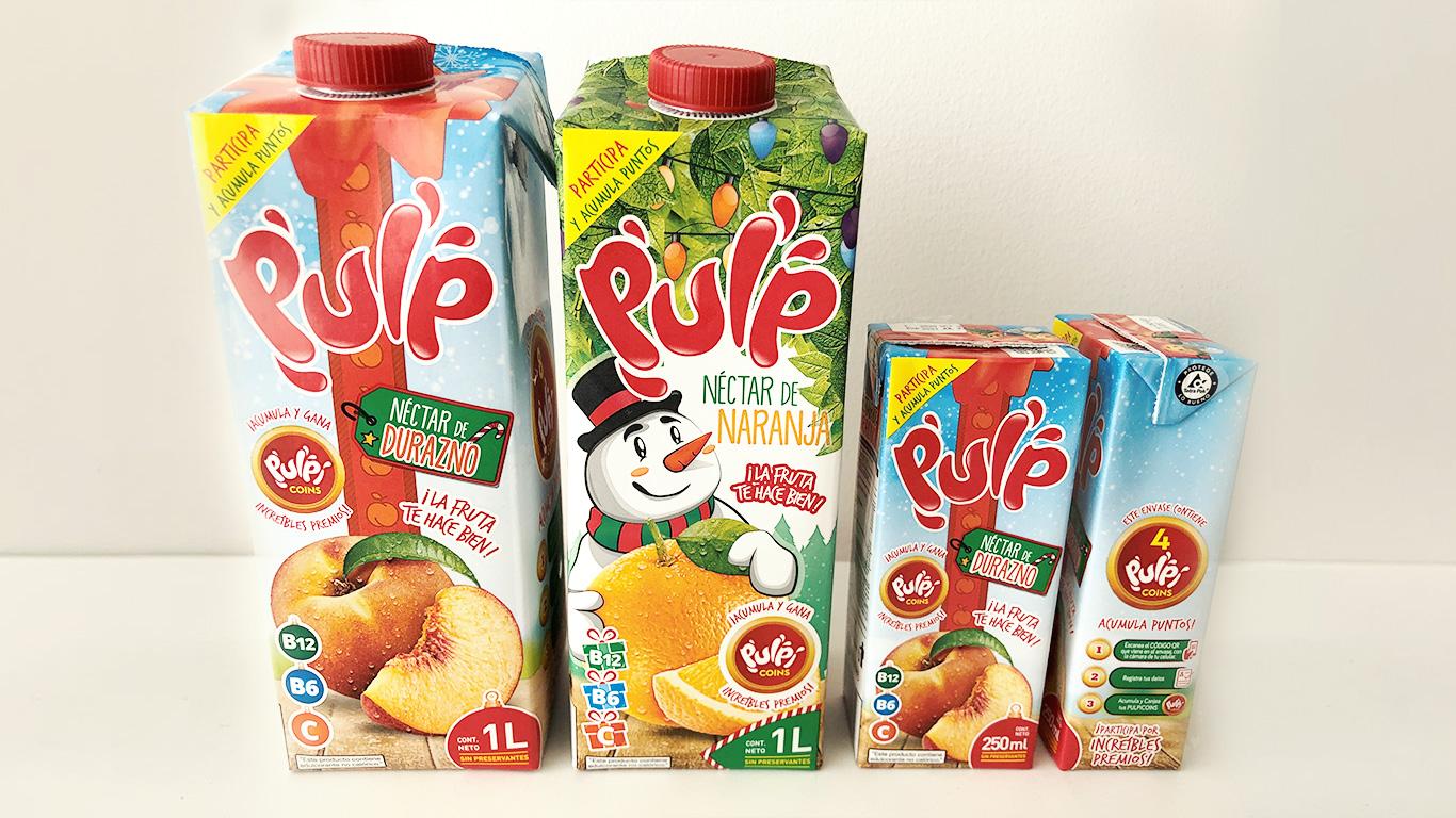 Nuevo envase inteligente conecta a los jugos Pulp con sus consumidores