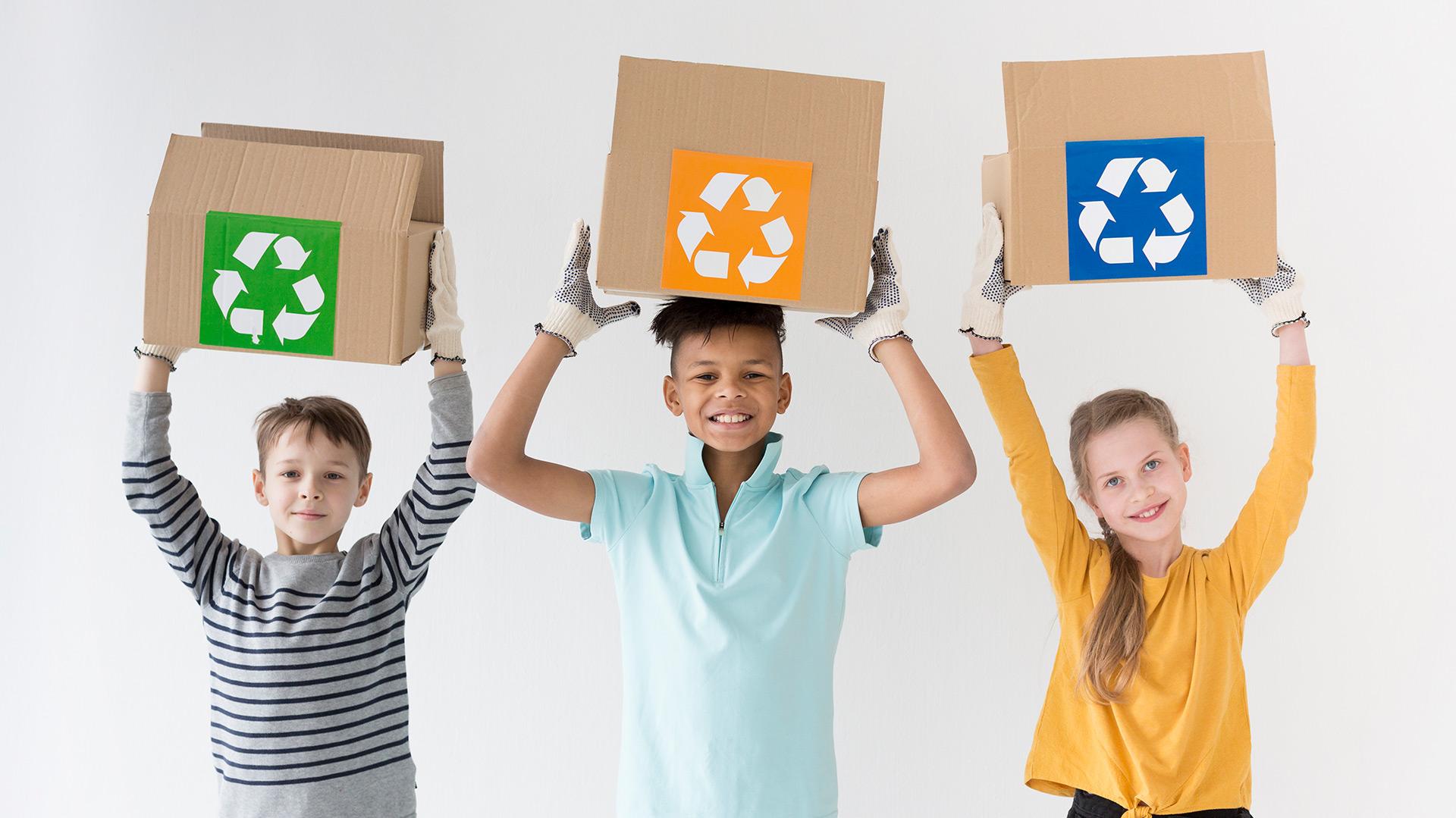 ¡A reciclar se ha dicho!